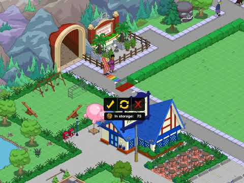 The Simpsons Ted Out Town Design Part 6 Spinster City Apartments