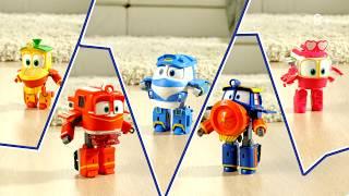 Роботы поезда - трансформирующиеся игрушки Robot Trains