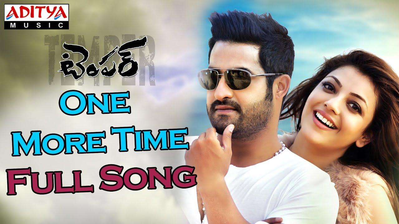 one more time full song ii temper movie ll jr ntr kajal agarwal