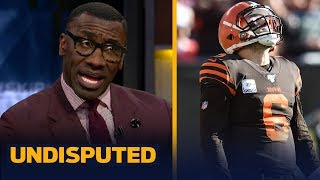 Baker deserves 90% of the blame for Browns loss to Seahawks - Shannon Sharpe | NFL | UNDISPUTED