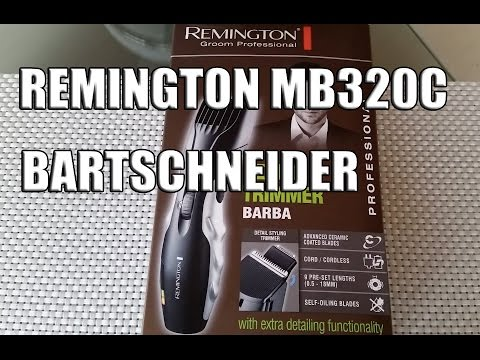 full download remington mb320c barba beard trimmer unboxing. Black Bedroom Furniture Sets. Home Design Ideas