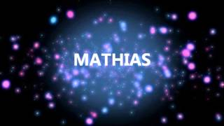 HAPPY BIRTHDAY MATHIAS!