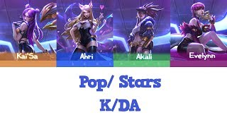 K/DA- POP/STARS (Color Coded Legendado ENG/PT-BR/HAN/ROM)