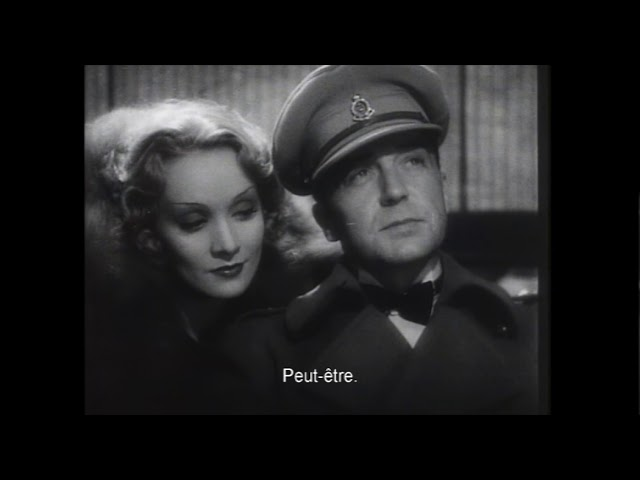 Trailer : Shanghai Express de Josef von Sternberg avec Marlene Dietrich (VOSTFR / HD)