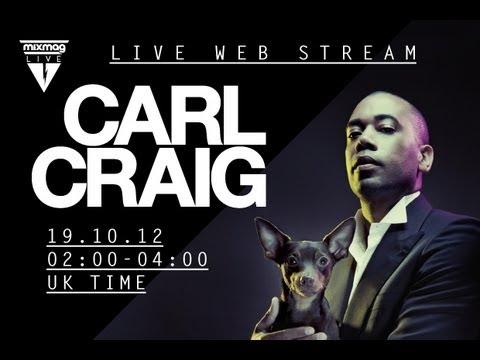 Carl Craig Detroit Classics set at Mixmag Live 2012