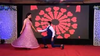 Sangeet Dance Performance | Bride & Groom | Pyar Ki Yeh Kahani Suno | Abhay weds Radhni |