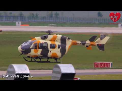 ILA 2014 Berlin Air Show │USA Army UH-72 Lakota [09-72105] Arrival