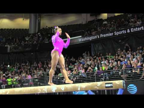 Simone Biles (USA) - Balance Beam - 2016 Pacific Rim Championships Team/AA Final