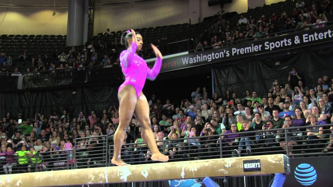 Simone Biles (USA) - Balance Beam - 2016 Pacific Rim Championships Team AA  Final. USA Gymnastics 66dce43f8