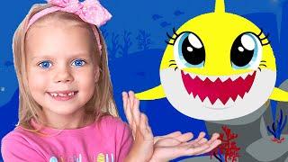 Baby Shark   Canción Infantil   Canción de Color   Canciones Infantiles con Vitalina life