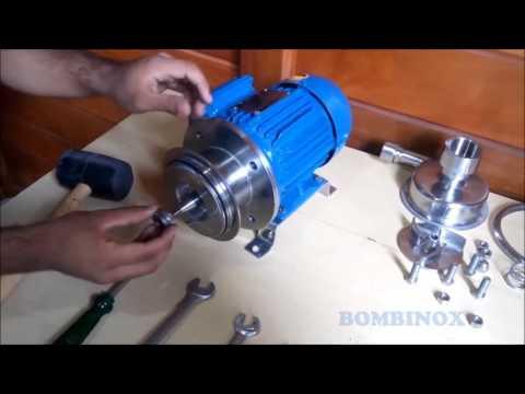 Montagem de Bomba Centrifuga   BOMBINOX