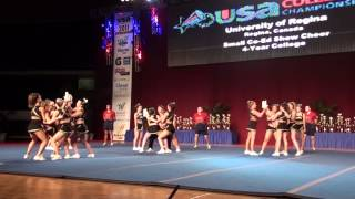 University of Regina Cheerleading - USA Collegiate Nationals 2011 - Day 2 - Small Coed