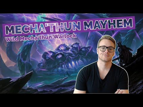 Hearthstone | Mecha'thun Mayhem | Wild Mecha'thun Warlock | Rastakhan's Rumble