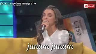 كلرمن سليمان تغني هندي 😍😍