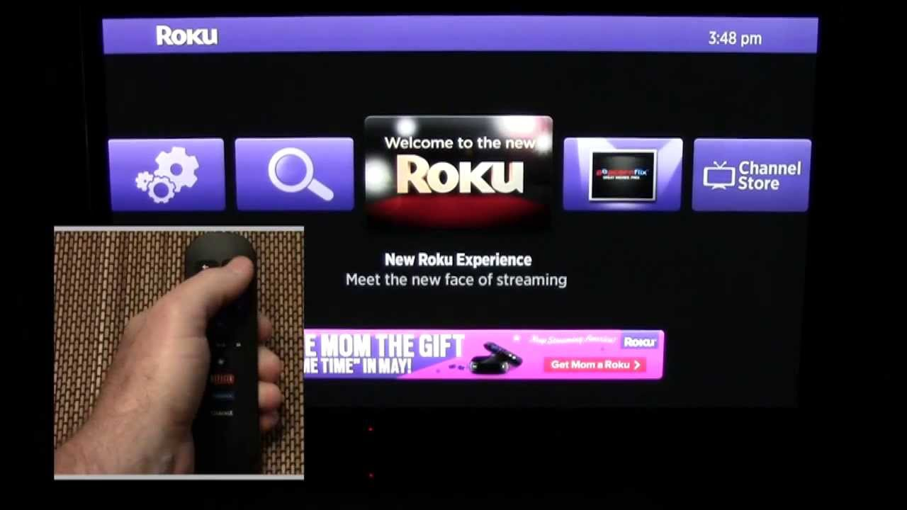 how to add youtube to roku