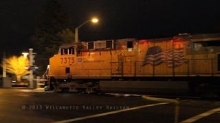 Early Morning Railfanning - Salem, Oregon 1.27.13