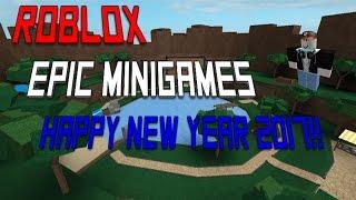 Roblox   Epische Minispiele / Frohes Neues Jahr 2017!!