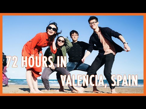 TRAVEL WITH ME: 72 Hours in VALENCIA, Spain | Bash Harry