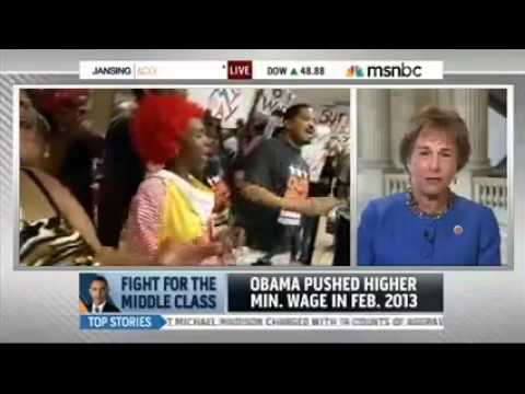 Interview with MSNBC Chris Jansing on raising the minimum wage