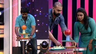 Thakarppan Comedy I Glass pyramid task for Thakarppan Stars...I Mazhavil Manorama
