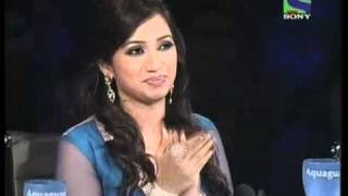 x factor india seemas hilarious act on hum kaale hain to kya hua x factor india episode 25 6th aug 2011