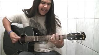 Vinicius Martins - Heaven and Hell (Black Sabbath) Trecho Acoustic DIO