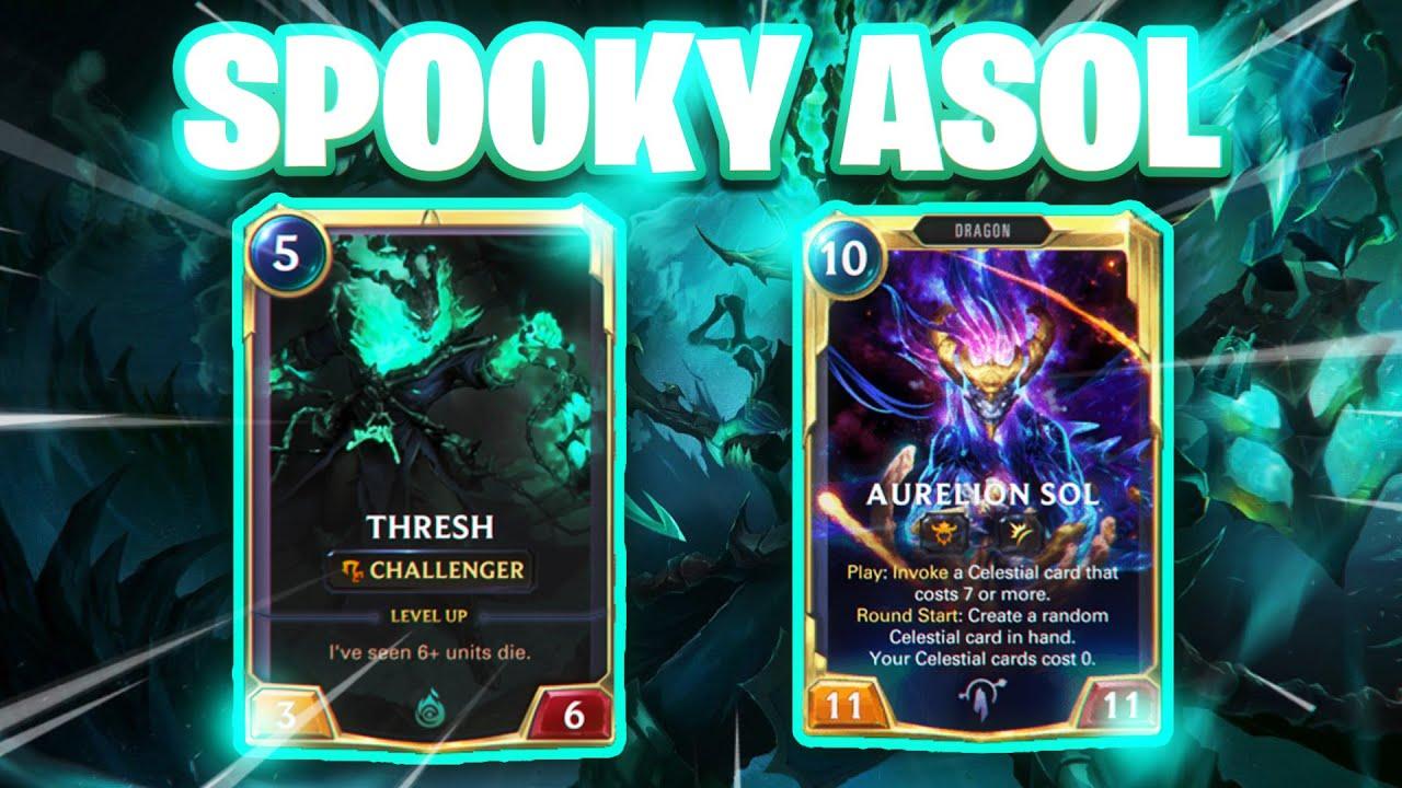 Spooky ASOL is BACK| Thresh Asol| Legends of Runeterra