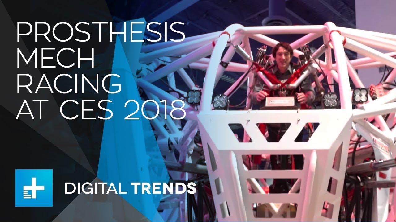 Prosthesis Mech Racing at CES 2018