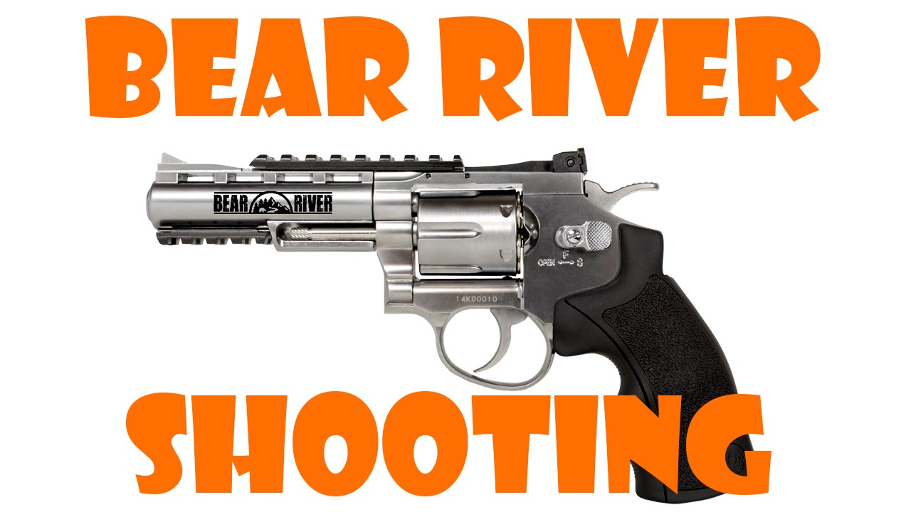 Bear River Revolver Bieng Shot   YouTube