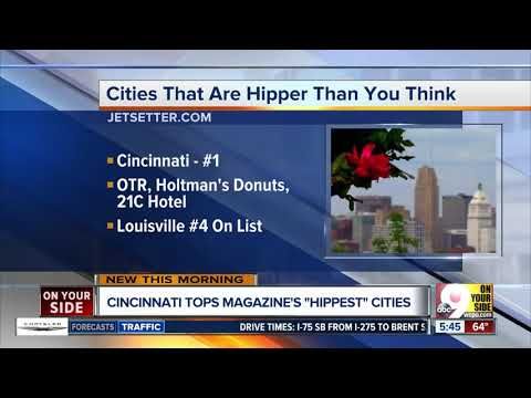 Cincinnati tops list of cities that are hipper than you think