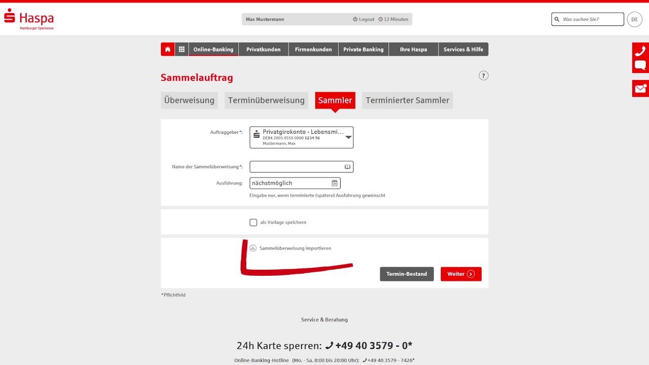Mehr Möglichkeiten – bei Überweisungen und Lastschriften  Hamburger  Sparkasse  #OnlineBanking
