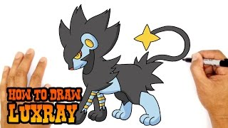 How to Draw Luxray (Pokemon)- Kids Art Lesson