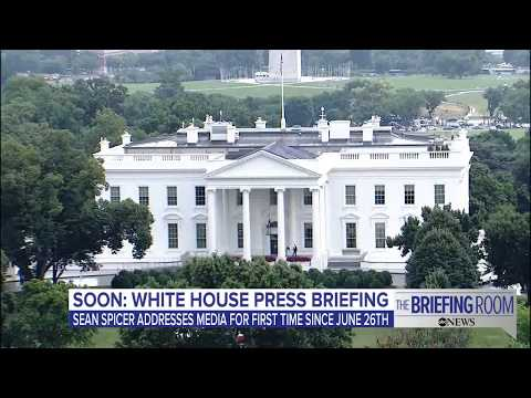 White House press briefing 7/17/17: Breaking down the latest on 'The Briefing Room'