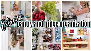 *NEW* EXTREME PANTRY ORGANIZATION + FRIDGE ORGANIZATION + GROCERY HAUL // TIFFANI BEASTON HOMEMAKING