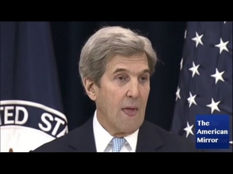 John Kerry sticks tongue out dozens of times during anti-Israel speech