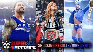 WWE Superstar Shakeup 2019 Big Surprises & SHOCKS ! WWE Superstars Shake Up 2019 Predictions
