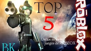 ROBLOX: TOP 5 - the best games 2017 (Spanish) - Matt