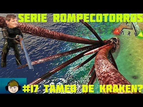 ARK #17 CAZANDO EL KRAKEN?WHAT(INTENTO FALLIDO)/NUEVO SERVIDOR HISPANIC WORLD (SERIE ROMPECOTORROS)