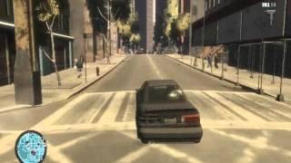 GTA IV geforce 8400gs (gameplay)