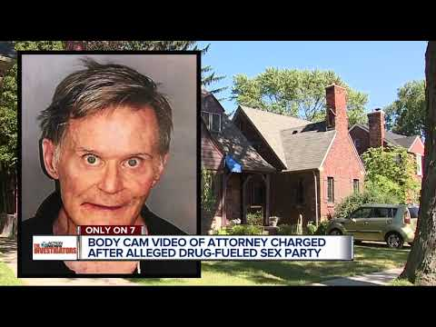 Video, 911 call released in Grosse Pointe Farms attorney's alleged drug-fueled sex party