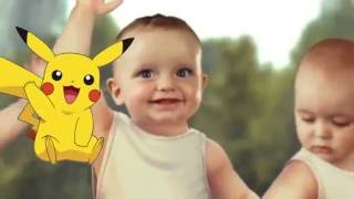 Video Anak Bayi   Baby Dance Goyang Pokemon Pikachu Lucu   Khanzahirah download MP3, 3GP, MP4, WEBM, AVI, FLV Oktober 2018