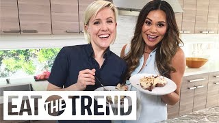 Chocolate Orzo Flan With Hannah Hart | Eat the Trend thumbnail