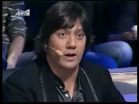 X Factor 2008-Live show 8 Nikolas Metaxas- 'Living in world without you'
