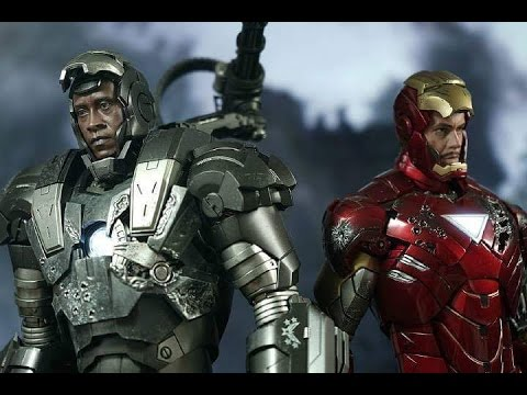 Hot Toys War Machine 1 0 Second Edition Pro Photography Youtube