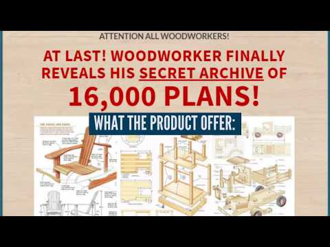 Teds woodworking: 16000 Woodworking Plans