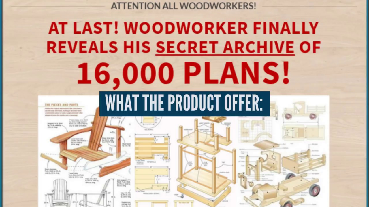 Teds Woodworking 16000 Woodworking Plans