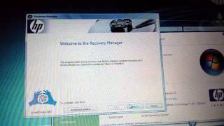 INSTRUKCJA przywracania ustawień fabrycznych HP Pavilion dv9705ea Windows VISTA RESTORE