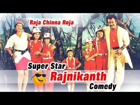 Raja Chinna Roja   Full Tamil Movie Comedy   Rajnikanth   Gouthami   Raghuvaran