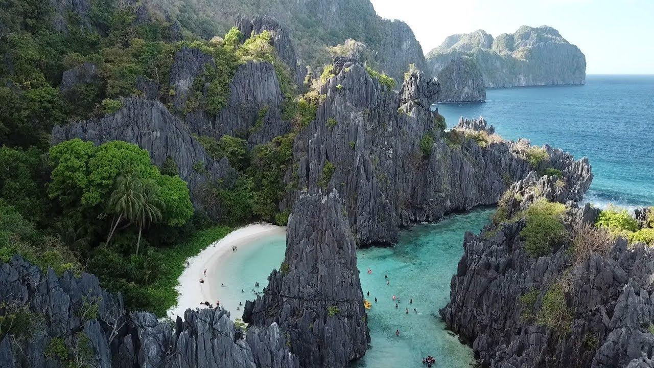 Palawan S Secret Beach Philippines Travel Vlog