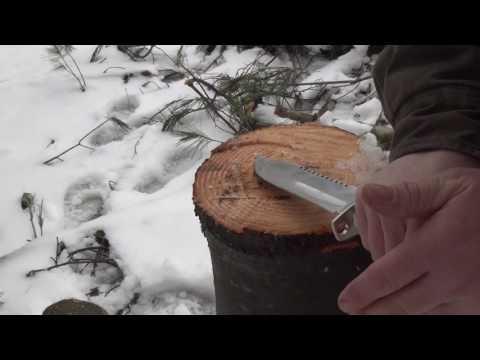 Coleman CM2022 Survival Knife Test & Review - Tactical Show